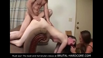 Must see! Brutal group sex thumbnail