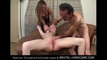 Must see! Brutal group sex