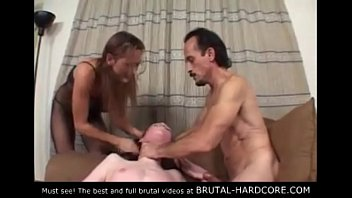 16584 Must see! Brutal group sex preview