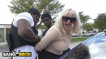 BANGBROS - Big Black Dick Wieldin' Cops Fuck The Mayor's White Daughter, Kiki Parker