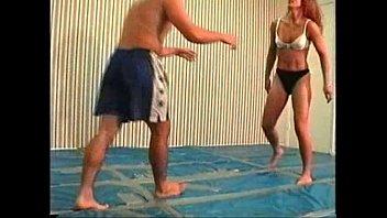 Flamingo Mixed Wrestling mw60 - Suzanne Vs. Stan part2