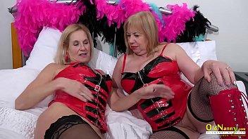 OldNannY British Mature Enjoying Lesbian Sex