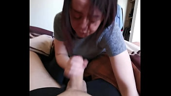 Morning Blowjob makes me late for work
