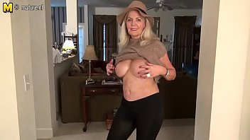 Naughty American mature mom with hot sexy body Judy Mayflower