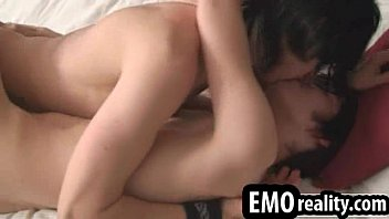 Emo twinks fucking passionately ans switching to 69