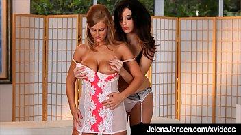 Penthouse Pet Jelena Jensen Sucks Alice Wonder'_s Hot Pussy!
