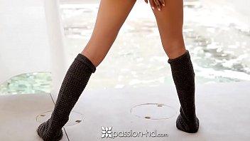 PASSION-HD Busty Pornstar Amia Miley healthy creampie and fuck thumbnail