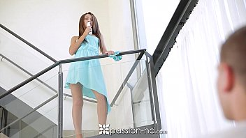 Passion-HD - Hot European Alexis Brill ditches vibrator for real cock