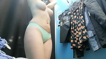Beauty Russian With Big Boobs And Nipples Dressing Room