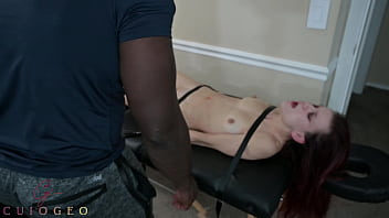 Eyerolling, writhing, and lots of moaning? Perfect 3 min