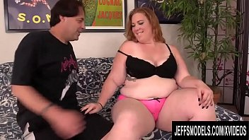 Sexy Plumper Ginger Rose Satisfied with a Big Cock in Her Mouth and Pussy