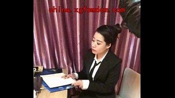 中国素人女王様映像 小剛流浪記01-1社員から女性社長の犬になった 映像サンプル 日英版 01-1