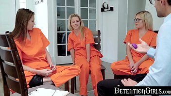 DetentionGirls - Sneaking Her Vibrator Into Group Therapy S1:E8 - 69VClub.Com