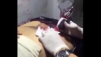 tattooed penis