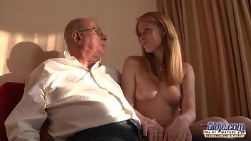 Old Young Porn Grandpa likes to fuck young girls and lick pussies pornhub video