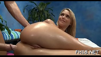 Watch these eighteen year old girls as they get drilled hard by their massage therapist