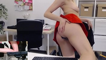 Sexy Secretary masturbate in office at work  -  See more on:   www.Secretcams.club