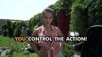 Alyssia Kent - Hot Brunette Beauty in POV ACTION