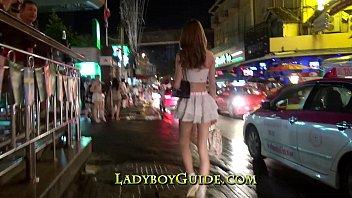 Thailand Ladyboy Wanks Sweet Cock porn image