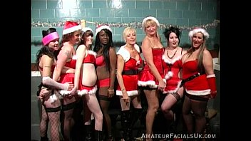 Swingers somerset uk Xmas party 3 amateur facials uk