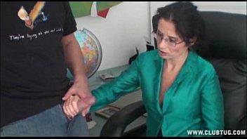 Tatiana pdx strip club Milf handjob at the office