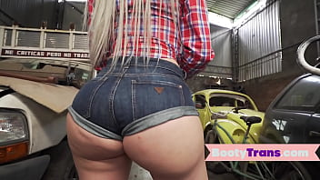 """Big ass booty tgirl doggystyled by mechanic <span class=""""duration"""">7 min</span>"""