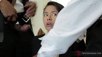 Asian Milf Porn Star Dana Vespoli Destroyed By BBCs Rough Anal Threesome DP image