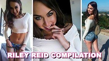 BANGBROS   Petite Pornstar Riley Reid One Hour Compilation Video