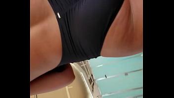 Tight bikini on cruise