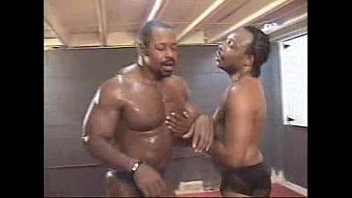 Intitle gay black wrestling Cell vs tit end part 4