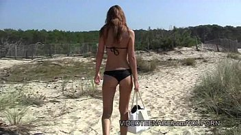 Mary frann naked Sexy teen nudist at beach