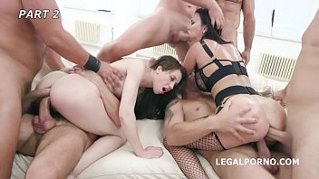 Monika Wild Pushed over the limits by Jasmine Jae   INSANE Group Fuck!