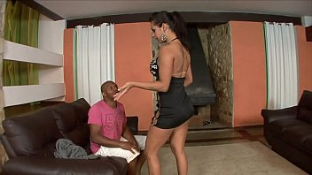 Hot maid fucked with her boss but what she really wanted was to suck his wife's pussy.