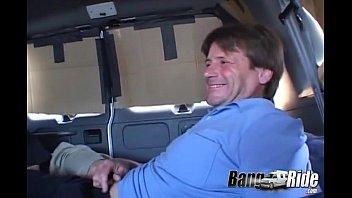 Busty Teen Gets Gangbanged In The Van