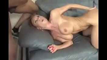 Black cock drilled milf