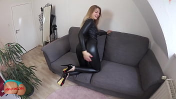 Tar ref boobs - German mom takes dick in the ass pov