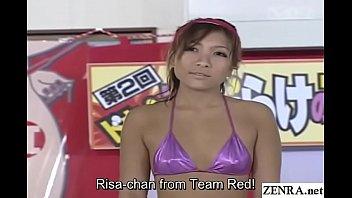Japanese Pool Sumo Game Jav Stars In Micro Bikinis