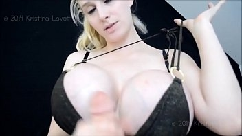 WWW.HUGETITTYCLIPS.COM TO WATCH FULL VIDEO - Kristi Lovett - Huge Fake Tits Cock Suffocation