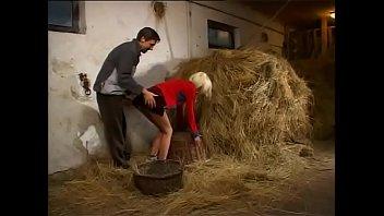Blindikno pofuka kmet kar v hlevu