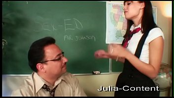 Student fucks with her teacher