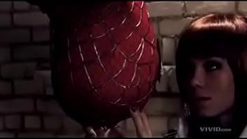 When Spider Man fuck his Gf