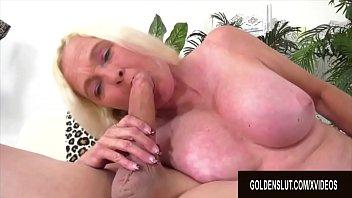 Golden Slut - Blonde Mature Beauties Blowjob Compilation Part 3