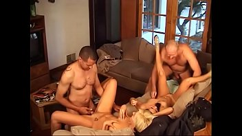 Escort roxy jezel Hot blonde summer nite and asian brunette roxy jezel fuck two random guys on a sofa