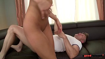 Hardcore anal porn with kinky blonde Chelsey Lanette getting anal creampie