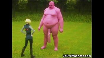 3D Skinny Teen Destroyed by a Dragon Vorschaubild