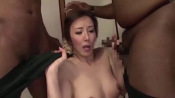 Asian MILF threesome with BBC porno izle