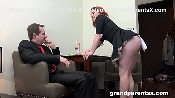 Streaming Video Grandma Catches Grandpa with the Maid - XLXX.video
