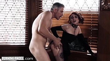 Burn xxx movies Burningangel goth masturbating in detention is anally punished