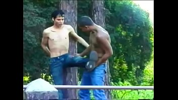 Gay wet on wellington Llight-skinned stud wellington gives some capoeira lessons his blackamoor brazilian friend lindberg sisso in the coppice