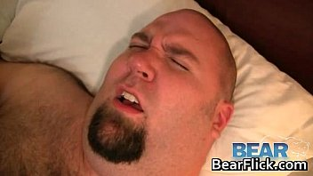 Big gay bears humping doggy style gay porn